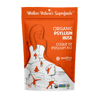 Mother Nature's: Organic Psyllium Husk - 150g